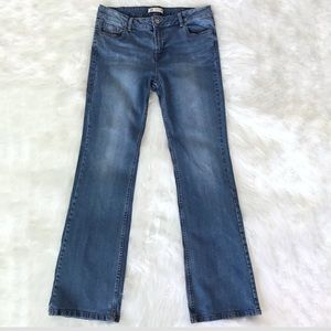Denim - Women's slim bootcut jeans size 30.